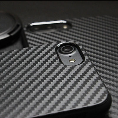 Ultra Thin Rubber Carbon Fiber Soft Silicone Case Cover For iPhone 7 6s 8 Plus