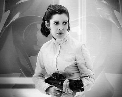 Carrie Fisher Princess Leia Star Wars movie actress R.I.P photo 8X10 picture 103