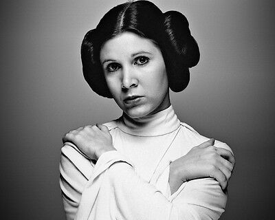 Carrie Fisher Princess Leia Star Wars movie actress R.I.P photo 8X10 picture 105