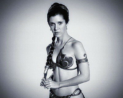 Carrie Fisher Princess Leia Star Wars movie actress R.I.P photo 8X10 picture 117