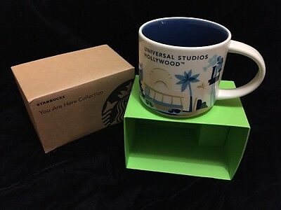 Starbucks Universal Studios Hollywood California Mug YAH You Are Here Coffee Cup