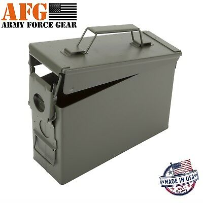 Army Force Gear NEW 50 cal Metal Ammo Can Waterproof ammo box Ammunition