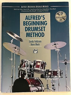 Alfred's Beginning Drum Set Method with CD