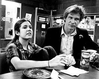 Carrie Fisher Princess Leia R.I.P Harrison Ford Han Solo photo 8X10 picture 145