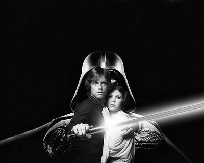 Carrie Fisher Princess Leia R.I.P Mark H. Luke Skywalker photo 8X10 picture 143