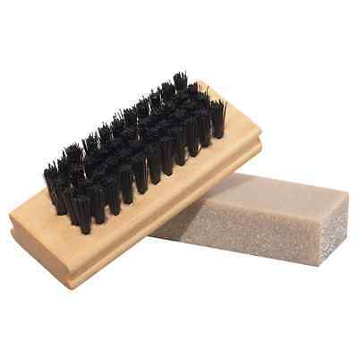 Timberland Unisex Footwear Dry Cleaning Kit Brush and Cleaner Bar Nubuck Suede