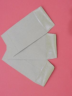 50x plain manilla envelopes ideal for school trip/dinner money/ seeds or crafts