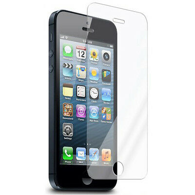 Tempered Glass Scratch Resist Screen Protector Film for Apple iPhone 5 5C 5S SE