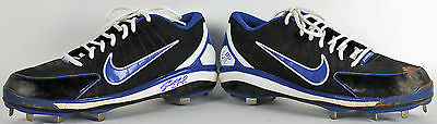 Dodgers Zack Greinke Signed Cy Young Season Game Used Cleats BAS #B03444