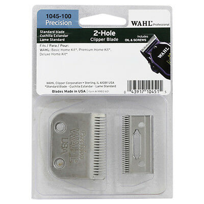 Wahl Professional 1045 2 Hole Precision Clipper Blade Set - NEW