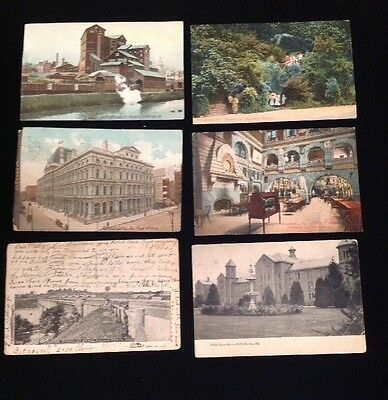 Vintage early 1900's Postcards- Lot of 22 Pennsylvania cities, towns, and sights