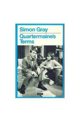 Quartermaine's Terms by Gray, Simon Paperback Book The Cheap Fast Free Post