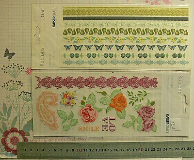 RUB-ONS Pickled Pear - Lady Rose - Flora Delight 210x110mm KaisercraftMultiLstL6