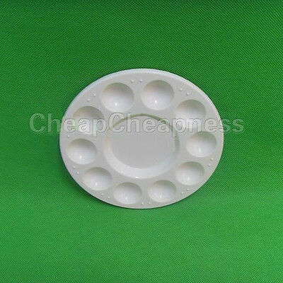 Artist Painting Pallet Plastic Round Palette Paint Wholesale Crafts Art SupplyOZ