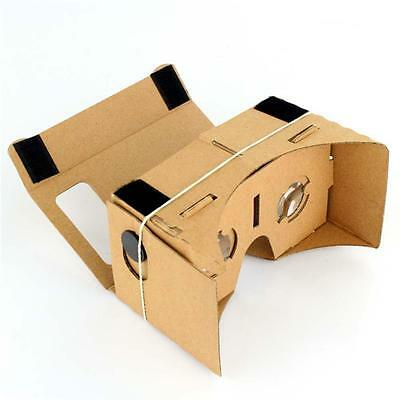 New Convient DIY Cardboard Virtual Reality VR Mobile Phone 3D Viewing Glasses TR