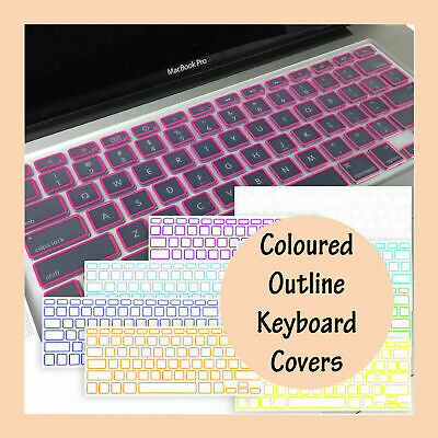 """Soft Keyboard Cover Case Protector for Apple Mac MacBook Air Pro 13.3"""" 15.4"""" 17"""""""