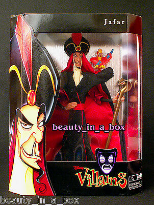 JAFAR Doll from Disney Male Villains Collection Iago Aladdin