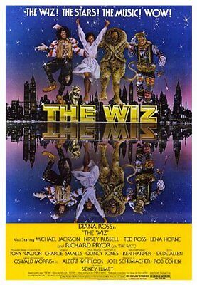 "The wiz Diana Ross 1978 cult movie Wall Poster Print 27"" x 40""inches"