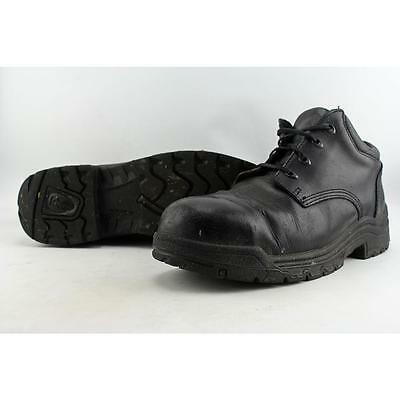Timberland Titan Oxford Men US 13 Black Work Shoe Pre Owned  1499