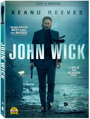 John Wick (2015, DVD NEW)