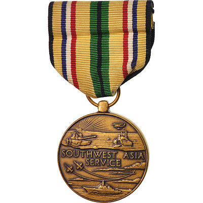 [#416057] United-States, Southern Asia Service, Medal, Excellent Quality,...
