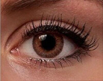 Fresh Colored Contact Lenses Brown Coloured FREE Contacts Lens CASE