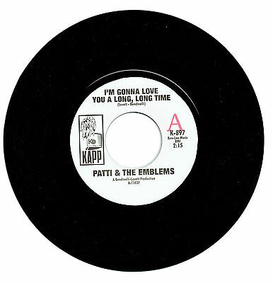 Patti & The Emblems I'm Gonna Love You A Long Long Time  Northern Soul 45 Listen