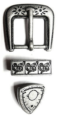 6 pcs BUCKLE SET AR AS Belt Buckle Ancient Viking Vintage Leather Crafters