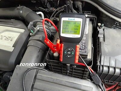 Launch Auto Car Battery Tester Diagnostic Capacity Test Upgraded version BST-468