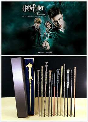 2016 Harry Potter Hermione Ron Magic Wand with Metal Core Design In Gift Box^^