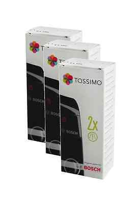 3 X TASSIMO Bosch Descaling Coffee Maker Machine Descaler Cleaner Tablets 311530