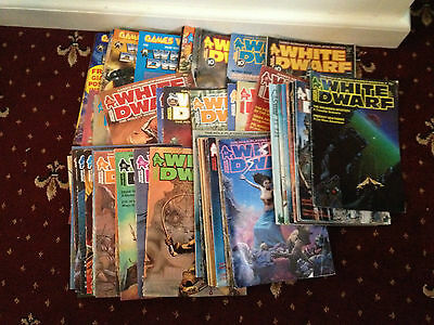 White Dwarf Magazines, Issues #54 to #158