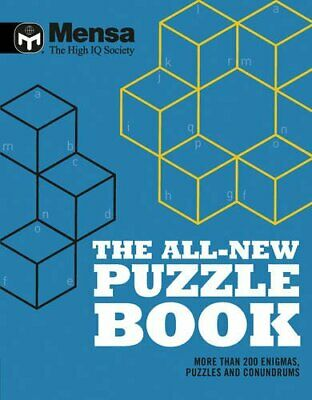 Mensa: The All-New Puzzle Book by Mensa Book The Cheap Fast Free Post