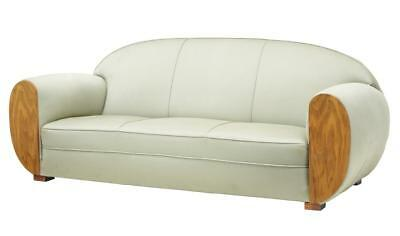 20Th Century Art Deco Inspired Club Sofa