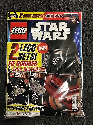 Rare - LEGO STAR WARS MAGAZINE BUMPER ISSUE 13 WITH 2 LEGO SETS @NEW@