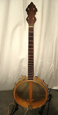 Weymann Keystone State Tenor Banjo 1926 W/ Orig Hrdcse Great Player Great Shape