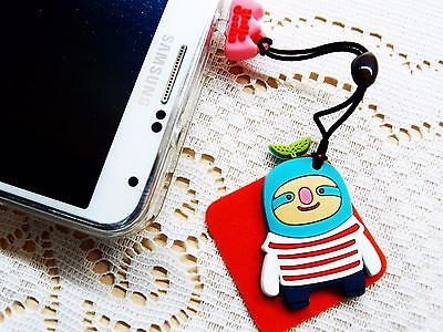 Hello Geeks Port Dust Cover Plug Cleaner Ear-cap Decoration Mobile Accessories B
