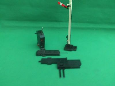 Hornby Electrically Operated Home Signal Set With Ladder In Working Order V.g.c.