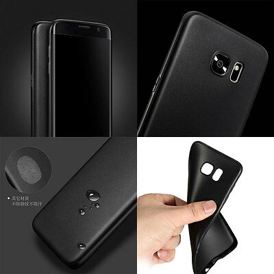Shockproof Ultra Thin Matte Soft TPU Case Cover For Samsung Galaxy S6 S7 edge