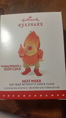 2015 Hallmark Keepsake- Heat Miser -The Year Without a Santa Claus