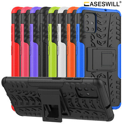 For Samsung Galaxy A70 A50 A40 A30 A20 A10 M10 Shockproof Armor Stand Cover Case