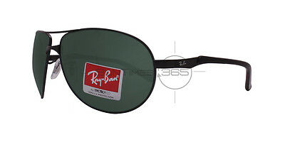 RAY BAN ACTIVE LIFESTYLE RB3393 006/71 64 Matte Black / Green Classic