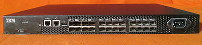 IBM SAN-Switch System Storage 2498-B24/24E 8 Active Ports - 249824E