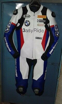 BMW Leather Suit Motorbike Racing Leather Suit Motorcycle Leather Suit One Piece
