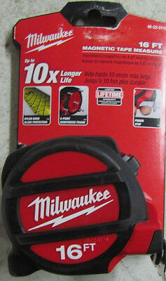 Milwaukee 48-22-5116 16' Foot Feet Magnetic Tape Measure New