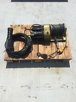 Golo Power Winch Model 7-15 RMO Cordem Corporation 115v MobilGear 632