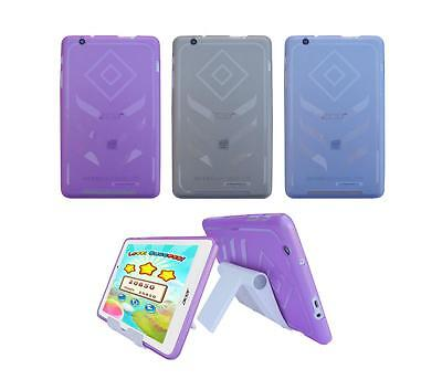 View Stand Holder + TPU Gel Skin Case Cover for Acer Iconia B1-810 Tablet