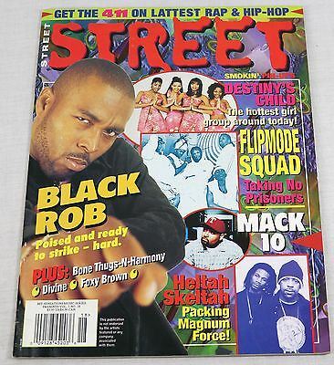Street Magazine 1990s Destiny's Child Mac 10 Black Rob Pin Up Posters Mega Rare