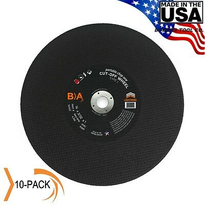 "Bullard Abrasives 14"" x 3/32 x 1 Metal Chop Saw Wheel Blade United States USA"