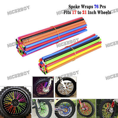 Wheel Spoke Wraps Covers for Yamaha YZ80 YZ85 YZ125 YZ250 YZ250F YZ450F YZ426F